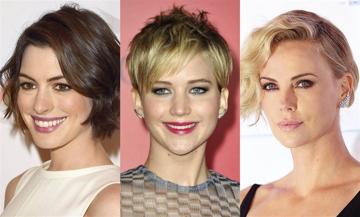 Cortes de pelo corto y peinados de mujer 2018 según forma cara