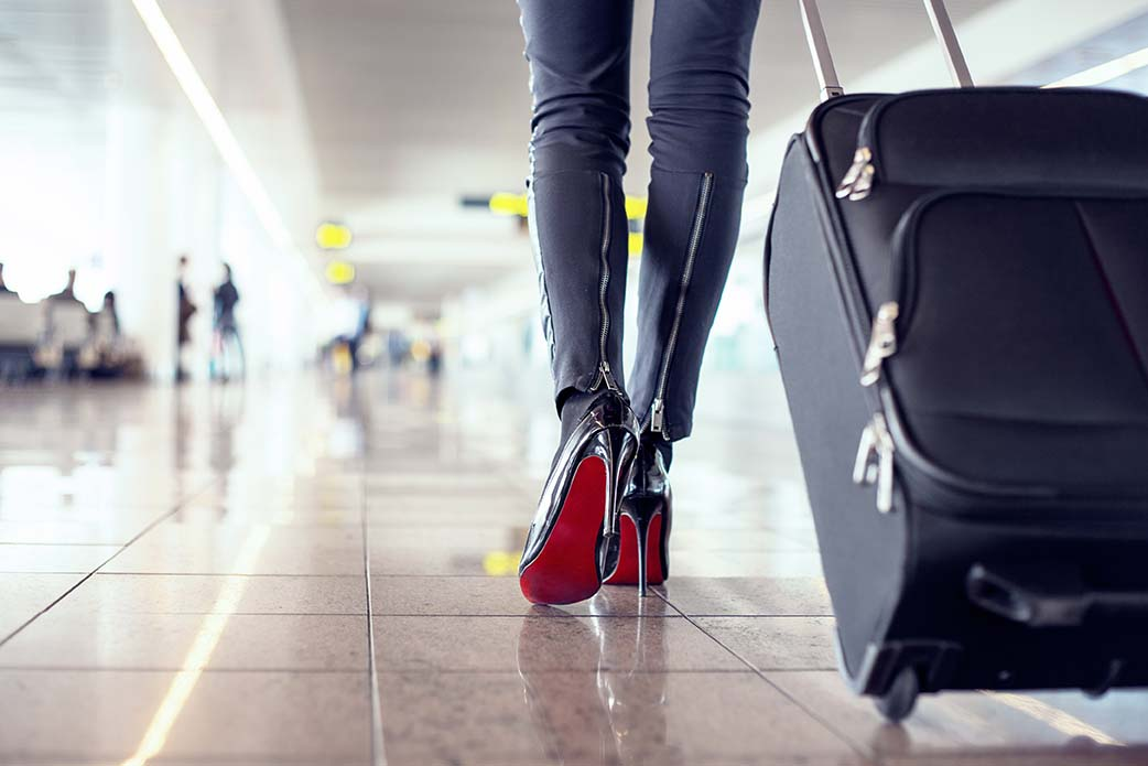maleta viaje de mujer