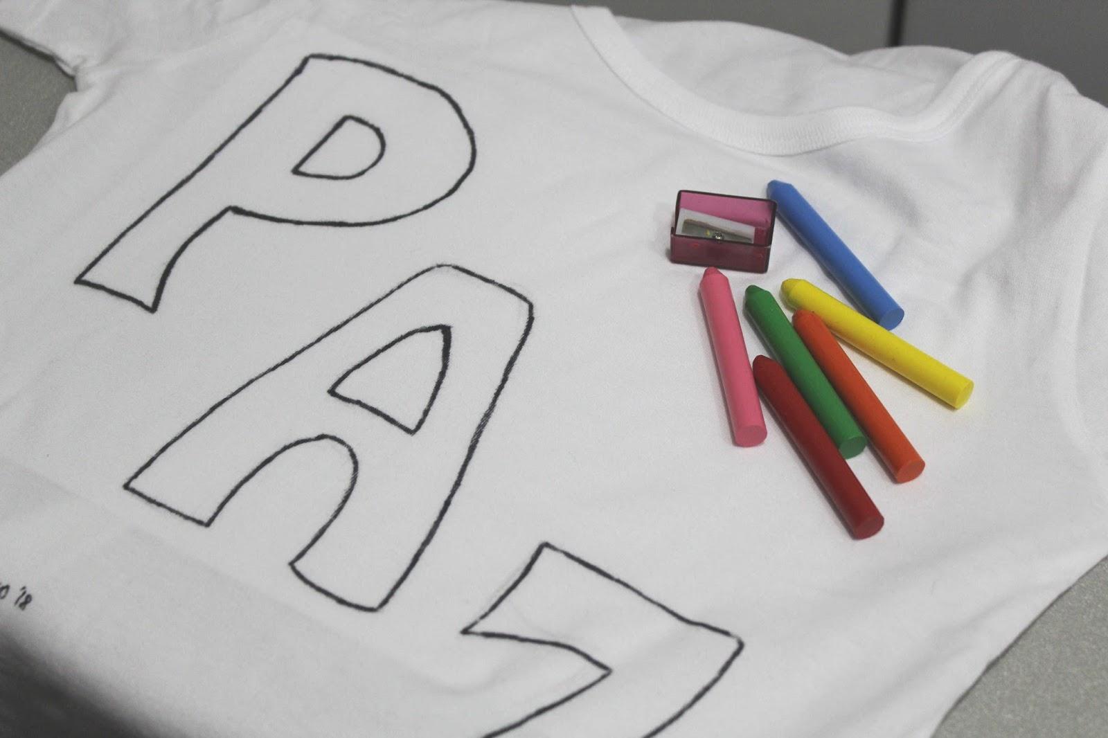 pintar una camiseta