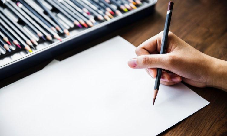 lápices de dibujo